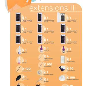 βαλιτσάκι extensions βλεφαρίδων